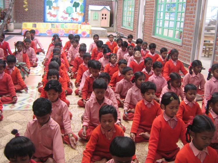 Padmini's school children