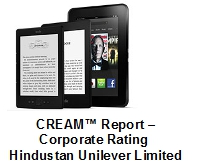 CREAM™ Report – Corporate Rating HUL at Amazon